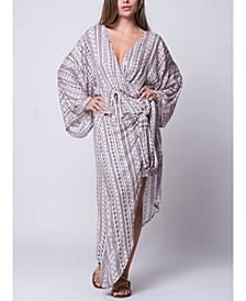 Kimono Sleeves Temara Wrap Top