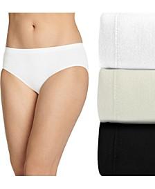 Women's 3-Pk. Comfies Cotton Hipster Underwear 3349