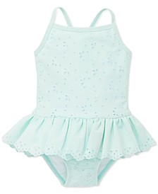 Baby Girls Eyelet One-Piece Swimsuit