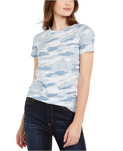 Lucky Brand Juniors' Camo Graphic T-Shirt