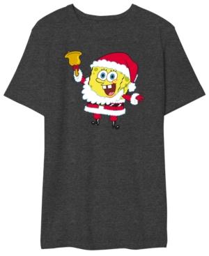 Spongebob Santa Men's Graphic T-Shirt