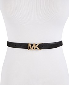 Skinny Haircalf Belt