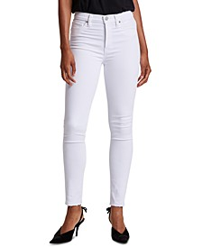 Barbara High-Rise Ankle Skinny Jeans