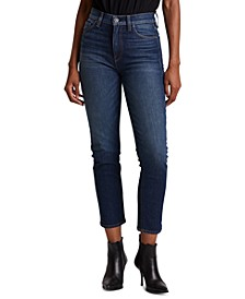 Holly Cropped Straight-Leg Jeans