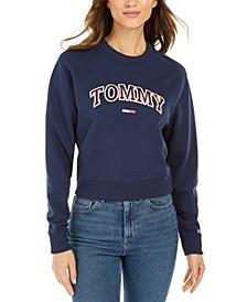 Neon Collegiate Fleece Top
