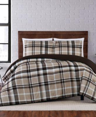Paulette Plaid Twin XL Comforter Set