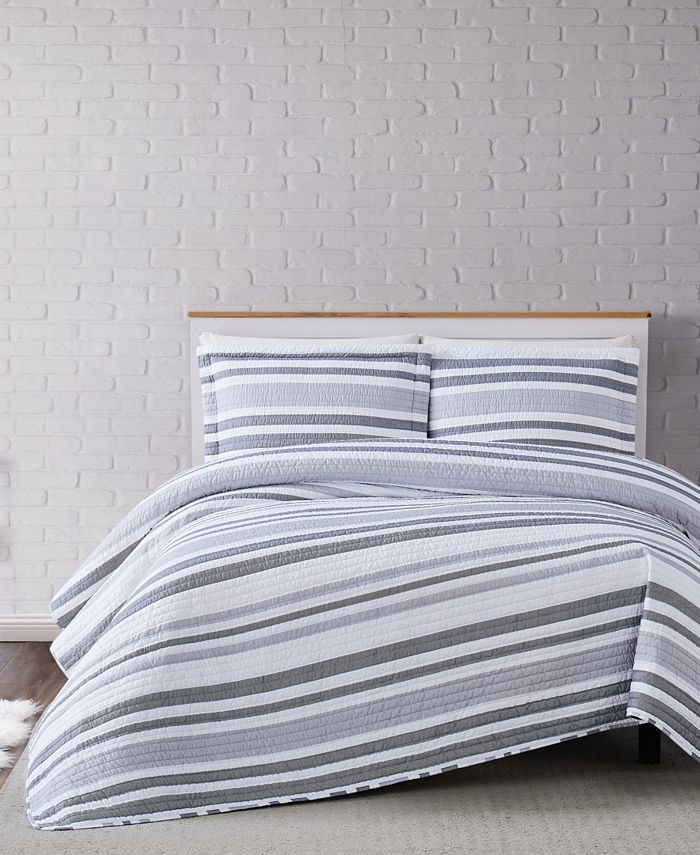 Truly Soft - Curtis Stripe Quilt Set Collection