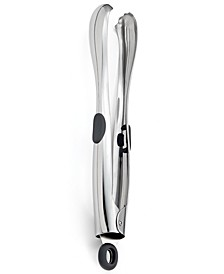 Nambe Curvo All-Purpose Tongs