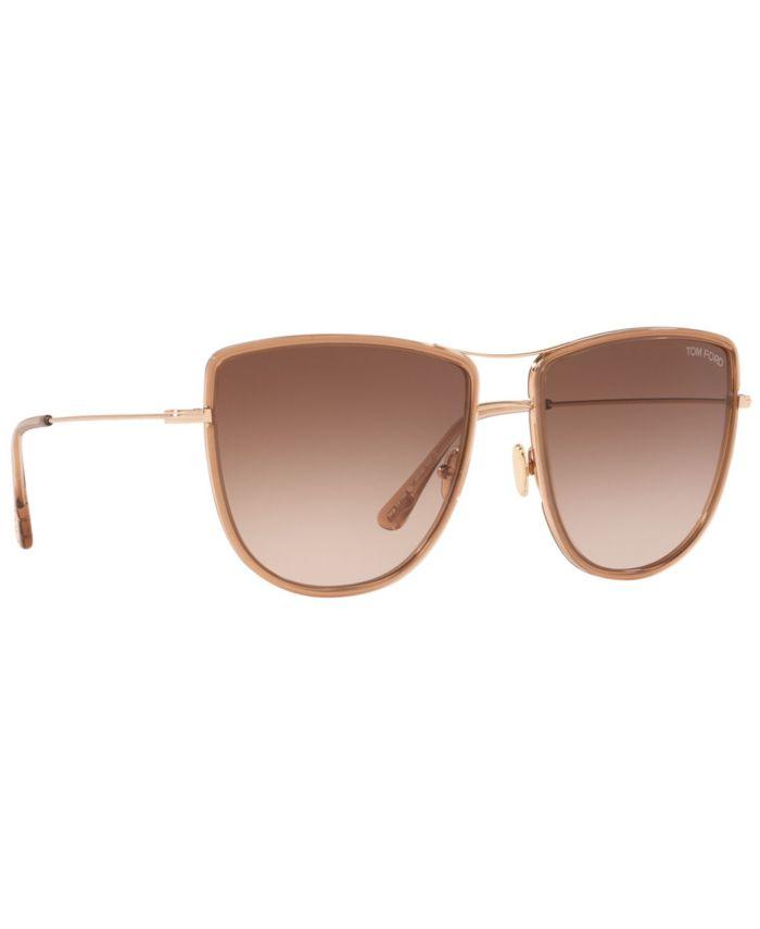 Tom Ford Women's Sunglasses, TR001099 & Reviews - Sunglasses by Sunglass Hut - Handbags & Accessories - Macy's