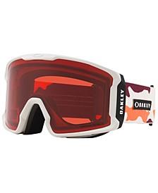 Men's Line Miner Goggles Sunglasses, OO7070