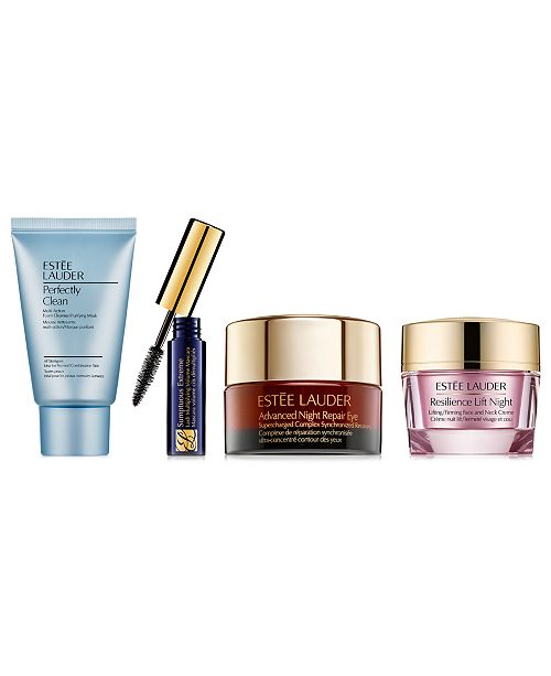 Estee Lauder Free 4pc beauty gift with $55 Estée Lauder purchase