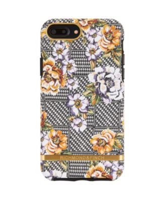 Floral Tweed Case for iPhone X and Xs