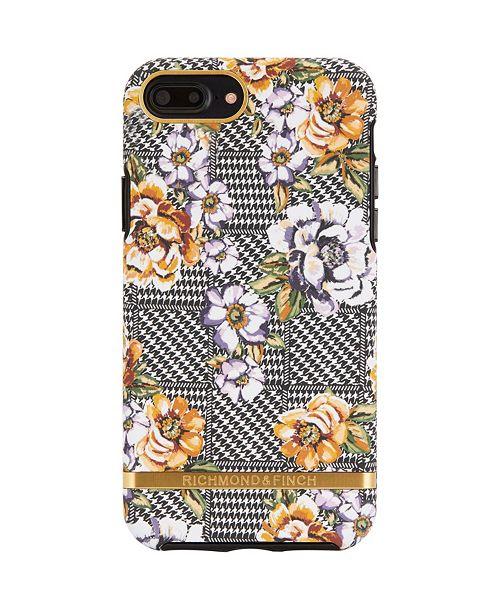 Richmond&Finch Floral Tweed Case for iPhone 6/6s, 6/6s Plus, 7, 7 Plus, 8, 8 Plus, X, XS, XS Max, XR