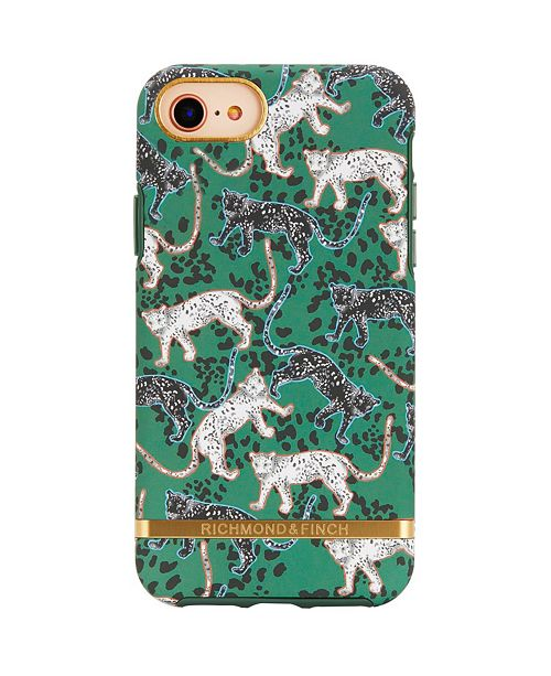 Richmond&Finch Green Leopard Case for iPhone 6/6s, 7 and 8