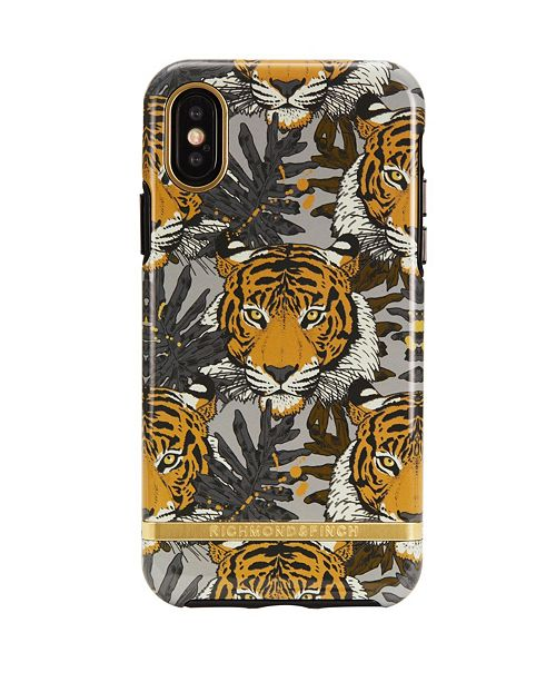 Richmond&Finch Tropical Tiger Case for iPhone X and Xs