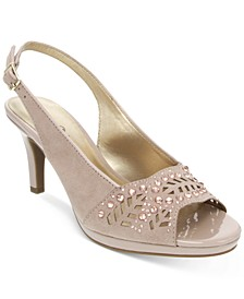Brooke Slingback Pumps, Created for Macy's
