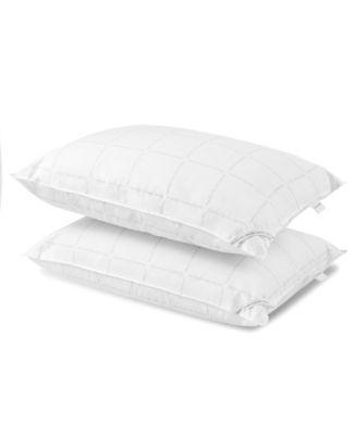 Grid Logo Down Alternative Pillow, Standrad/Queen