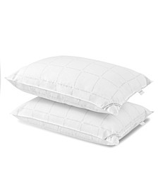 Grid Logo Down Alternative Pillow, Standrad/Queen