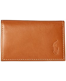 Men's Burnished Leather Slim ID Card Case