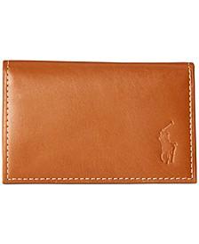 Men's Burnished Leather Slim ID Card Case