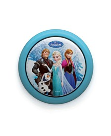 Disney Frozen Elsa Anna Olaf Battery Powered LED Push Touch Night Light