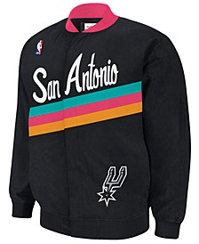 Men's San Antonio Spurs Authentic Warm Up Jacket