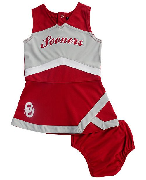 Outerstuff Baby Oklahoma Sooners Cheer Captain Dress