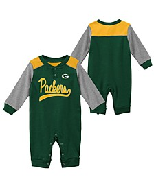 Baby Green Bay Packers Scrimmage Coverall