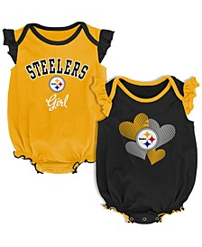 Baby Pittsburgh Steelers Celebration Bodysuit Set