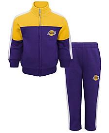 Toddlers Los Angeles Lakers Rebound Pant Set