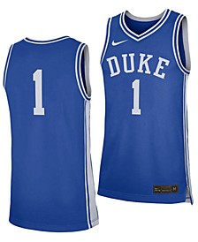 Men's Duke Blue Devils Replica Basketball Road Jersey