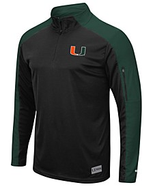 Men's Miami Hurricanes Promo Quarter-Zip Pullover