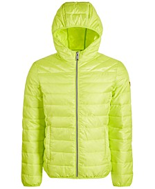 Men's Packable Hooded Puffer Jacket