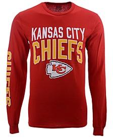 Men's Kansas City Chiefs Zone Read Long Sleeve T-Shirt