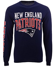 Men's New England Patriots Zone Read Long Sleeve T-Shirt