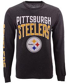 Men's Pittsburgh Steelers Zone Read Long Sleeve T-Shirt