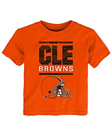 Little Boys Cleveland Browns Graph Repeat T-Shirt