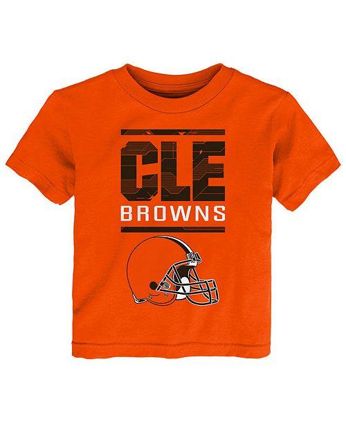 Outerstuff Little Boys Cleveland Browns Graph Repeat T-Shirt