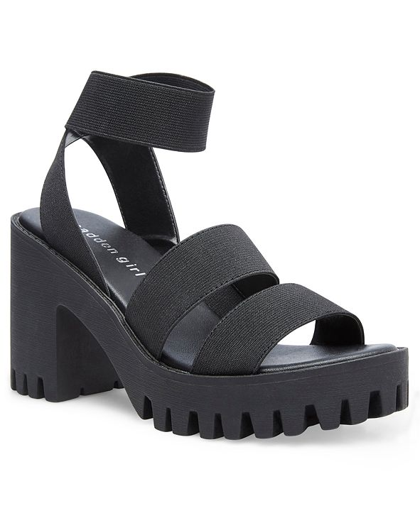 Madden Girl Soho Lug Sandals
