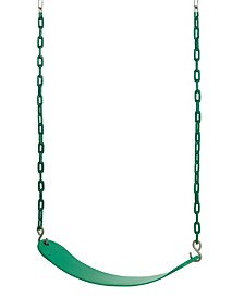 Belt Swing with Vinyl Coated Chain for All Ages