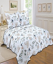 By The Sea Quilt Set