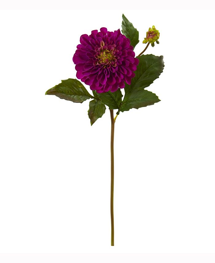 Nearly Natural - 20in. Dahlia Artificial Flower Set of 6