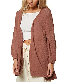 Juniors' Coronado Cotton Cardigan