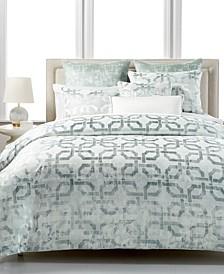 Fresco Sage King Comforter, Created for Macy's