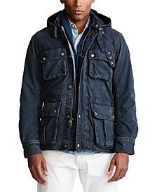 Men's Naval-Inspired Denim Jacket