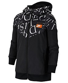 Big Boys Sportswear Windrunner Hooded Jacket