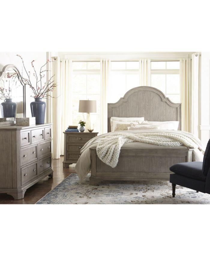 Furniture Layna California King Bed  & Reviews - Furniture - Macy's