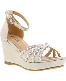 Big Girls Sophia Crystal Dress Sandal