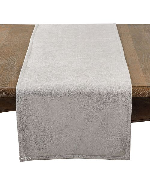 Saro Lifestyle Metallic Glam Table Runner