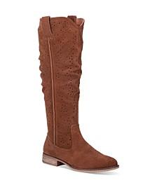 Women's Adrina Leather Regular-Calf Boot